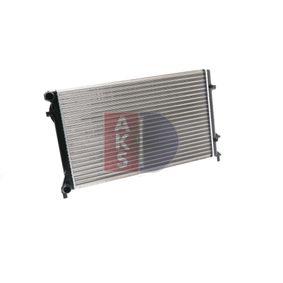 VW GOLF 1.9 TDI 105 K.C. 040023N AKS DASIS Воден радиатор / единични части в оригинално качество