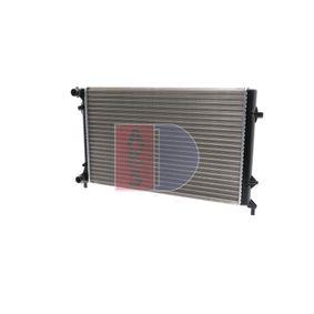 висококачествени Воден радиатор / единични части AKS DASIS 040023N за VW GOLF 1.9 TDI 105 K.C.