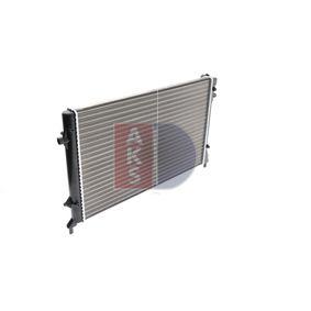 AKS DASIS VW GOLF Воден радиатор / единични части (040023N)