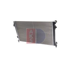 Популярни Воден радиатор / единични части AKS DASIS 040023N за VW GOLF 1.9 TDI 105 K.C.