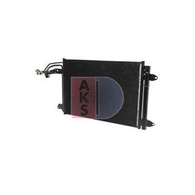 vysoké kvality Kondensator AKS DASIS 042013N pro SKODA OCTAVIA 1.6 TDI 105 HP