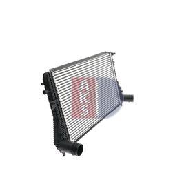 AKS DASIS Mezichladic stlaceneho vzduchu 047023N pro SKODA OCTAVIA 1.6 TDI 105 HP