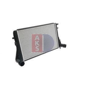 kvalitní Mezichladic stlaceneho vzduchu AKS DASIS 047023N - SKODA OCTAVIA