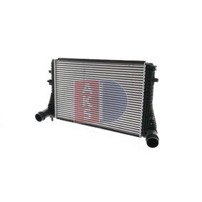 vysoké kvality Mezichladic stlaceneho vzduchu AKS DASIS 047023N pro SKODA OCTAVIA 1.6 TDI 105 HP