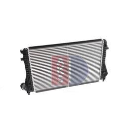 Mezichladic stlaceneho vzduchu AKS DASIS (047023N) pro SKODA OCTAVIA ceny