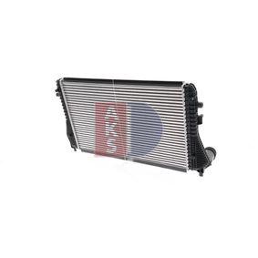 Populární Mezichladic stlaceneho vzduchu AKS DASIS 047023N pro SKODA OCTAVIA 1.6 TDI 105 HP