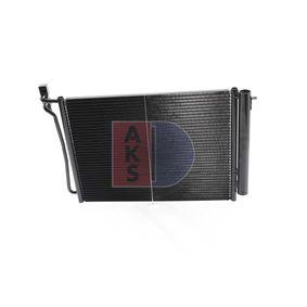 Klimakondensator (052009N) hertseller AKS DASIS für BMW X5 (E53) ab Baujahr 12.2003, 218 PS Online-Shop