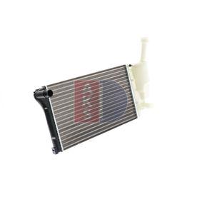 quality Radiator engine cooling AKS DASIS 080066N - FIAT PANDA