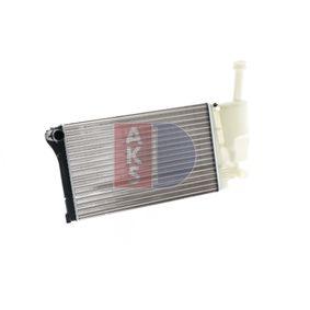 FIAT PANDA 1.2 60 HP 080066N AKS DASIS Radiator engine cooling original quality