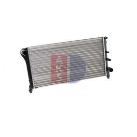 FIAT PANDA 1.2 60 HP 080067N AKS DASIS Radiator engine cooling original quality