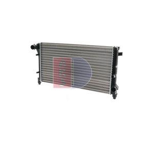 high-quality Radiator AKS DASIS 080067N for FIAT PANDA 1.2 60 HP