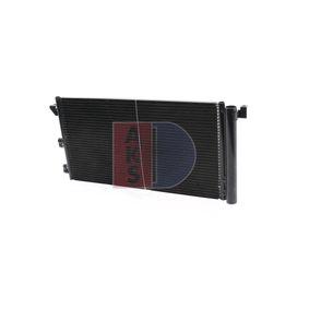 Popular Air con condenser AKS DASIS 082020N for FIAT PANDA 1.2 60 HP