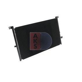 Qualitäts Klimakondensator AKS DASIS 092004N - FORD MONDEO