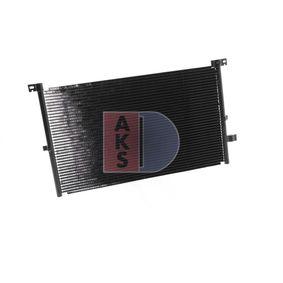 FORD MONDEO 2.0 TDCi 130 PS 092004N AKS DASIS Kondensator Klimaanlage in Original Qualität
