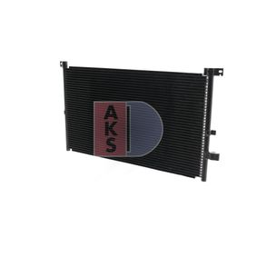 Premium Klimakondensator AKS DASIS 092004N für FORD MONDEO 2.0 TDCi 130 PS