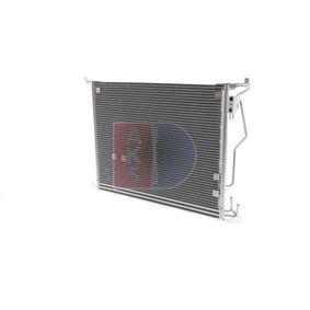Kondensator, Klimaanlage AKS DASIS Art.No - 122190N OEM: 2205001054 für MERCEDES-BENZ, VOLVO kaufen
