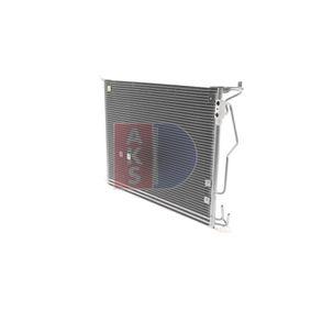 AKS DASIS Kondensator, Klimaanlage 2205000954 für MERCEDES-BENZ, VOLVO bestellen