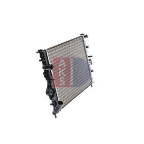 AKS DASIS Autokühler 180200N für RENAULT CLIO 1.5 dCi (B/CB07) 65 PS