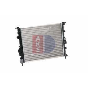 RENAULT CLIO 1.5 dCi (B/CB07) 65 PS 180200N AKS DASIS Wasserkühler in Original Qualität