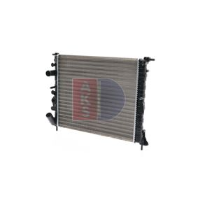 Premium Wasserkühler AKS DASIS 180200N für RENAULT CLIO 1.5 dCi (B/CB07) 65 PS