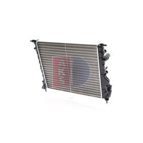 Beliebte Wasserkühler AKS DASIS 180200N für RENAULT CLIO 1.5 dCi (B/CB07) 65 PS
