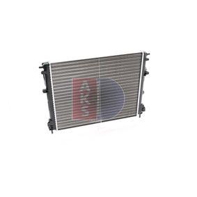 Wasserkühler AKS DASIS (181670N) für RENAULT CLIO Preise