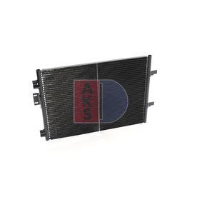 Klimakondensator AKS DASIS (182021N) für RENAULT CLIO Preise