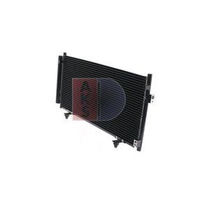 AKS DASIS Kondensator, Klimaanlage 73210SC000 für VOLVO, SUBARU, BEDFORD, ARO bestellen