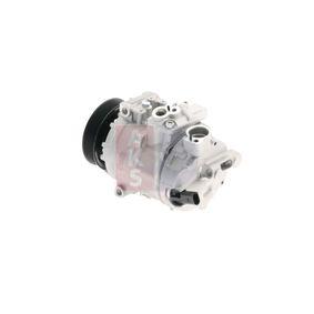 Kompressor, Klimaanlage AKS DASIS Art.No - 850682N OEM: 1K0820808B für VW, AUDI, SKODA, SEAT, VOLVO kaufen