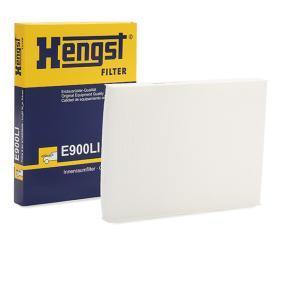 Filter, Innenraumluft HENGST FILTER Art.No - E900LI OEM: 1H0819644A für VW, AUDI, SKODA, SEAT, HONDA kaufen
