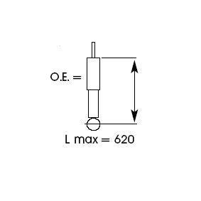 Shock absorber KYB (343272) for TOYOTA RAV 4 Prices