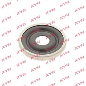 KYB Anti-Friction Bearing, suspension strut support mounting Front Axle,  without accessories, Suspension Mounting Kit