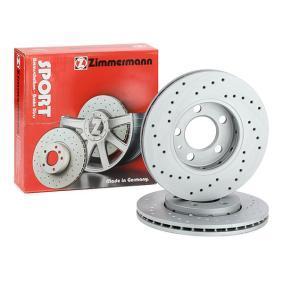JZW615301N für VW, AUDI, SKODA, SEAT, Bremsscheibe ZIMMERMANN (100.1233.52) Online-Shop