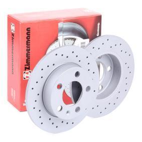 2Q0615601H für VW, AUDI, SKODA, SEAT, Bremsscheibe ZIMMERMANN (100.1236.52) Online-Shop