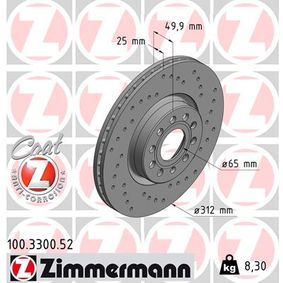 ZIMMERMANN 100.3300.52