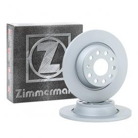 5Q0615601G за VW, AUDI, SKODA, SEAT, Спирачен диск ZIMMERMANN (100.3315.20) Онлайн магазин
