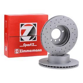 34116854998 für BMW, Bremsscheibe ZIMMERMANN (150.3427.52) Online-Shop