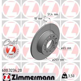 ZIMMERMANN Bremsscheibe (600.3234.20) niedriger Preis