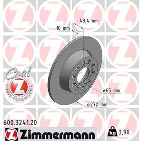 1K0615601AA für VW, AUDI, SKODA, SEAT, PORSCHE, Bremsscheibe ZIMMERMANN (600.3241.20) Online-Shop