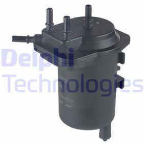 Kraftstofffilter DELPHI (HDF907) für RENAULT CLIO Preise