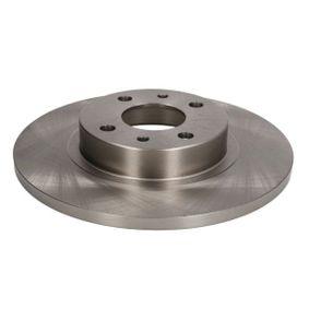 спирачен диск ABE Art.No - C3F004ABE OEM: 60808872 за FIAT, ALFA ROMEO, LANCIA, CHRYSLER купете