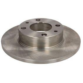ABE Disco de freno Eje delantero, Eje trasero, Ø: 227mm, Macizo C3F030ABE en calidad original