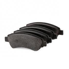 DELPHI Brake Pad Set, disc brake (LP1727) at low price