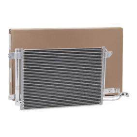 Kondensator, Klimaanlage DELPHI Art.No - TSP0225482 OEM: 1K0820411Q für VW, AUDI, SKODA, HYUNDAI, SEAT kaufen