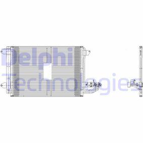 DELPHI TSP0225482 Kondensator, Klimaanlage OEM - 1K0820411AH AUDI, SEAT, SKODA, VOLVO, VW, VAG, VW-PORSCHE, VW (FAW), DIPASPORT günstig