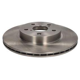ABE Bremseskive foraksel, Ø: 302mm, ventileret, Gråt støbejern C32107ABE af original kvalitet