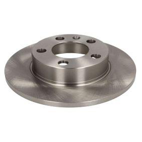 Bremsscheibe ABE Art.No - C4W000ABE OEM: 1J0615601C für VW, AUDI, SKODA, SEAT, SMART kaufen