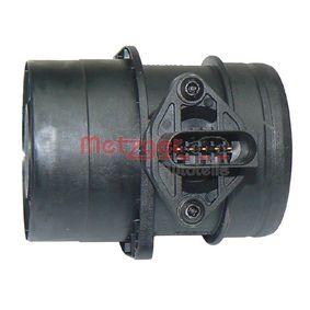 AUDI A4 (8E2, B6) METZGER Luftmassenmesser/Luftmengenmesser 0891055 bestellen