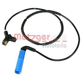 Sensor, Raddrehzahl METZGER Art.No - 0900013 OEM: 34526752683 für BMW kaufen
