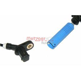 METZGER Sensor, Raddrehzahl 34526752683 für BMW bestellen